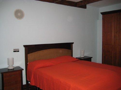 Detail des Schlafzimmers