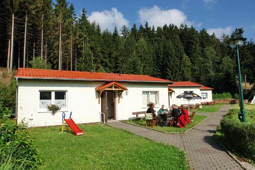 Ferienhaus am Waldesrand, Sommer