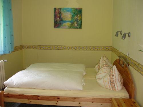 Blick in das Ferienhaus - Schlafzimmer