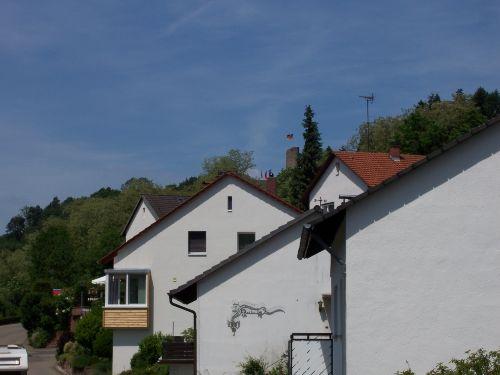 Blick zur Burg Windeck