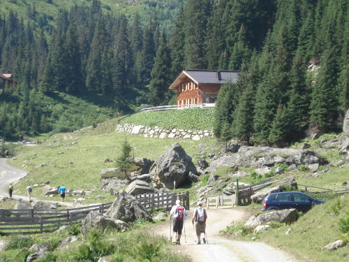 Wanderung Konstanzerhütte