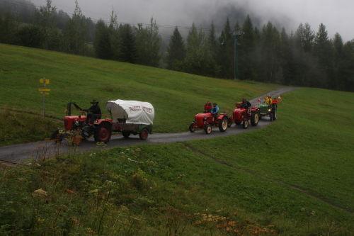Traktortreffen in Pettneu