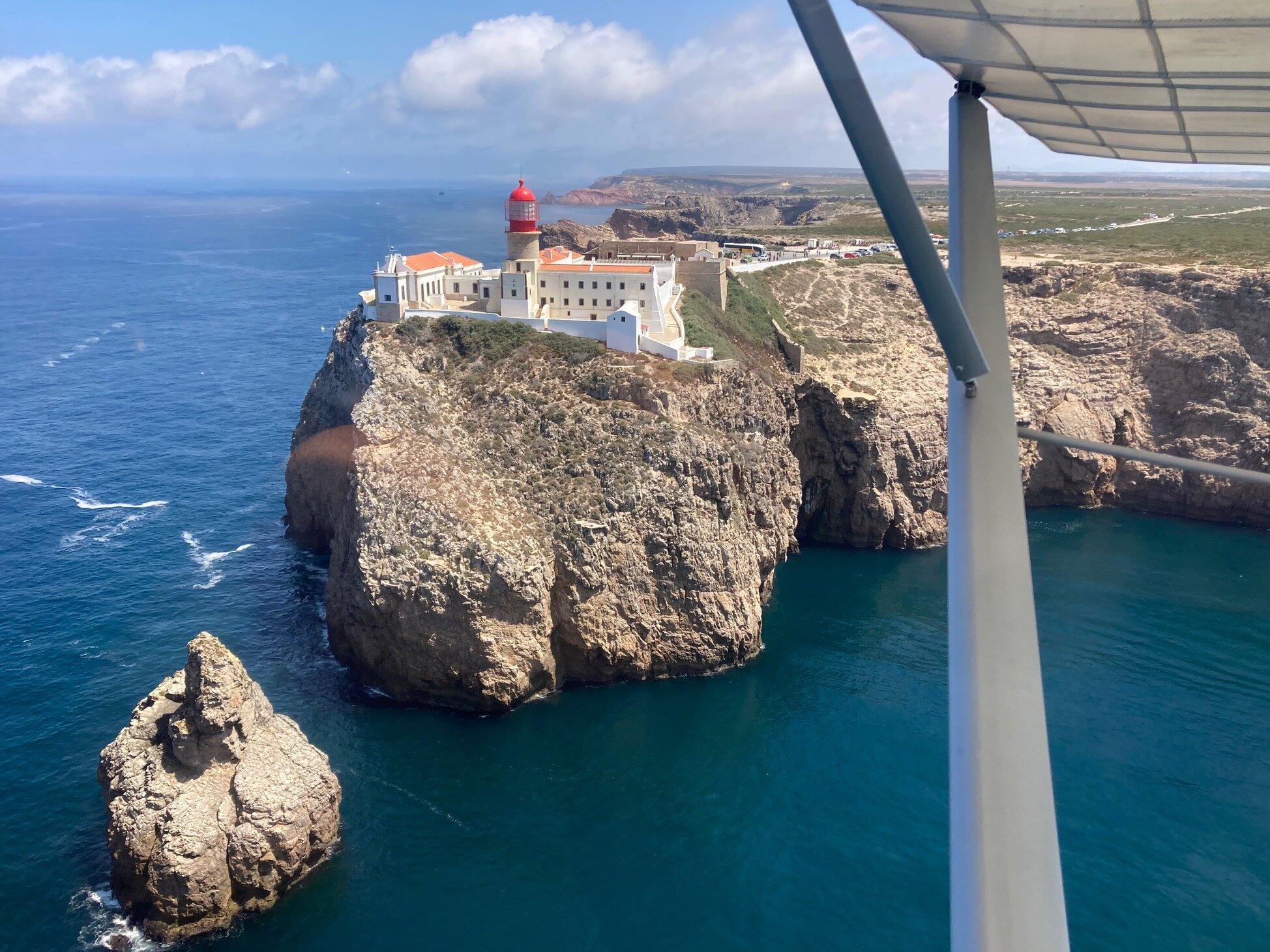Bucht von Alvor u. Lagos im Hintergrund