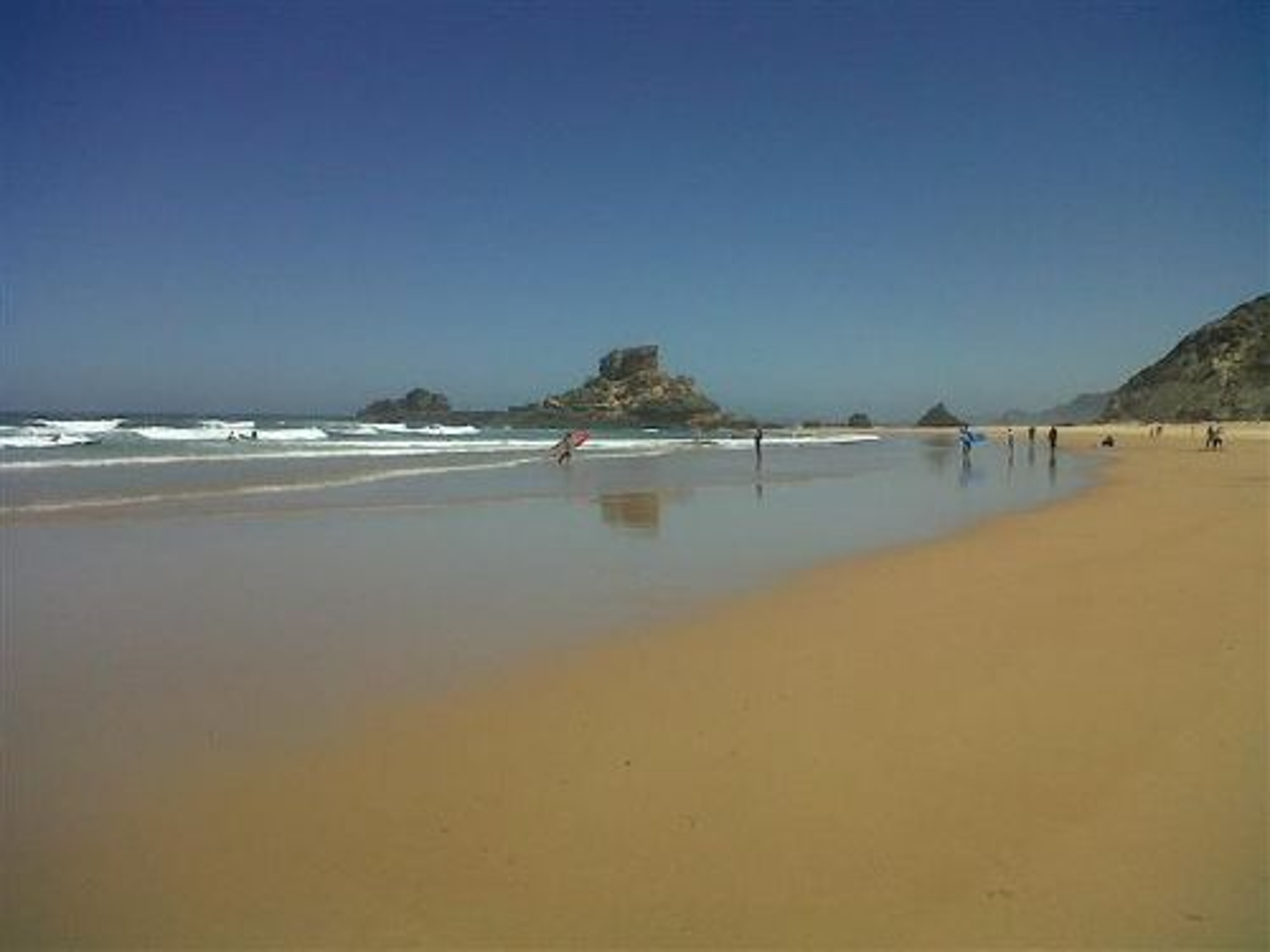 Praia do Castelejo im Juli 2012