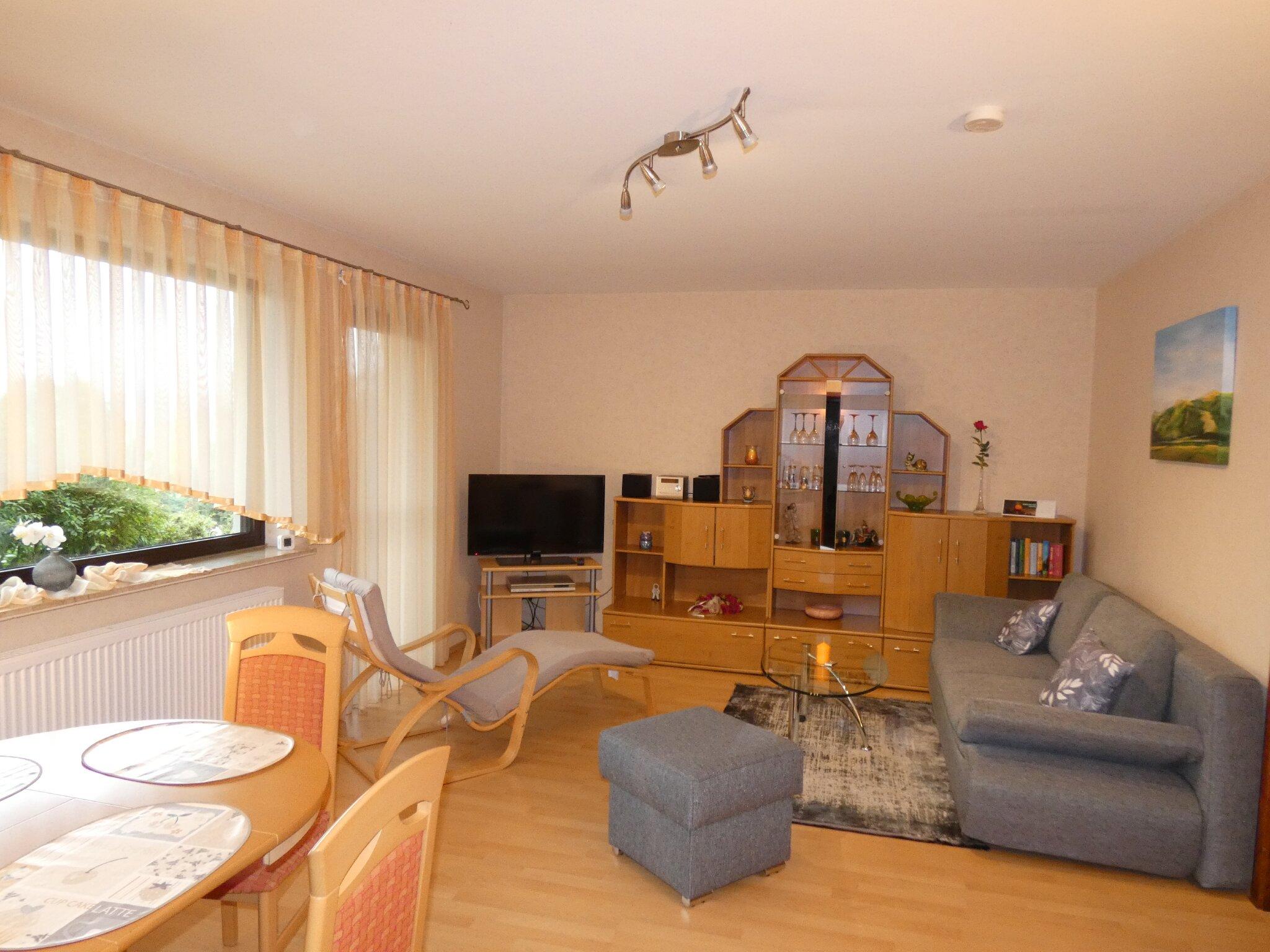 Das Wohnzimmer (mit HD-TV)