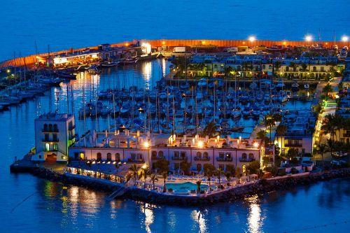 nacht in puerto mogán