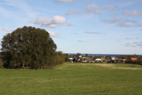 Blick auf K�hlungsborn und die Ostsee