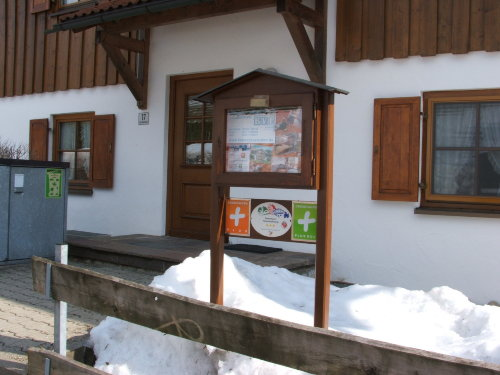 Haupteingang Landhaus Eibelesmühle