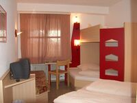 Hotel Restaurant Fallerhof Siegfried Faller, Fünfbettzimmer im Haupthaus mit WC und Dusche in Bad Krozingen - kleines Detailbild