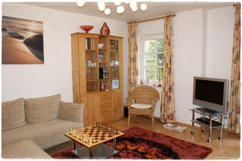 Unser Wohnzimmer, gemütlich und schön