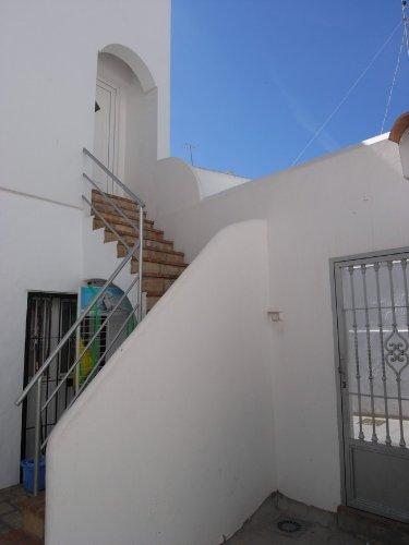 Treppe aus dem Patio zum Soberado