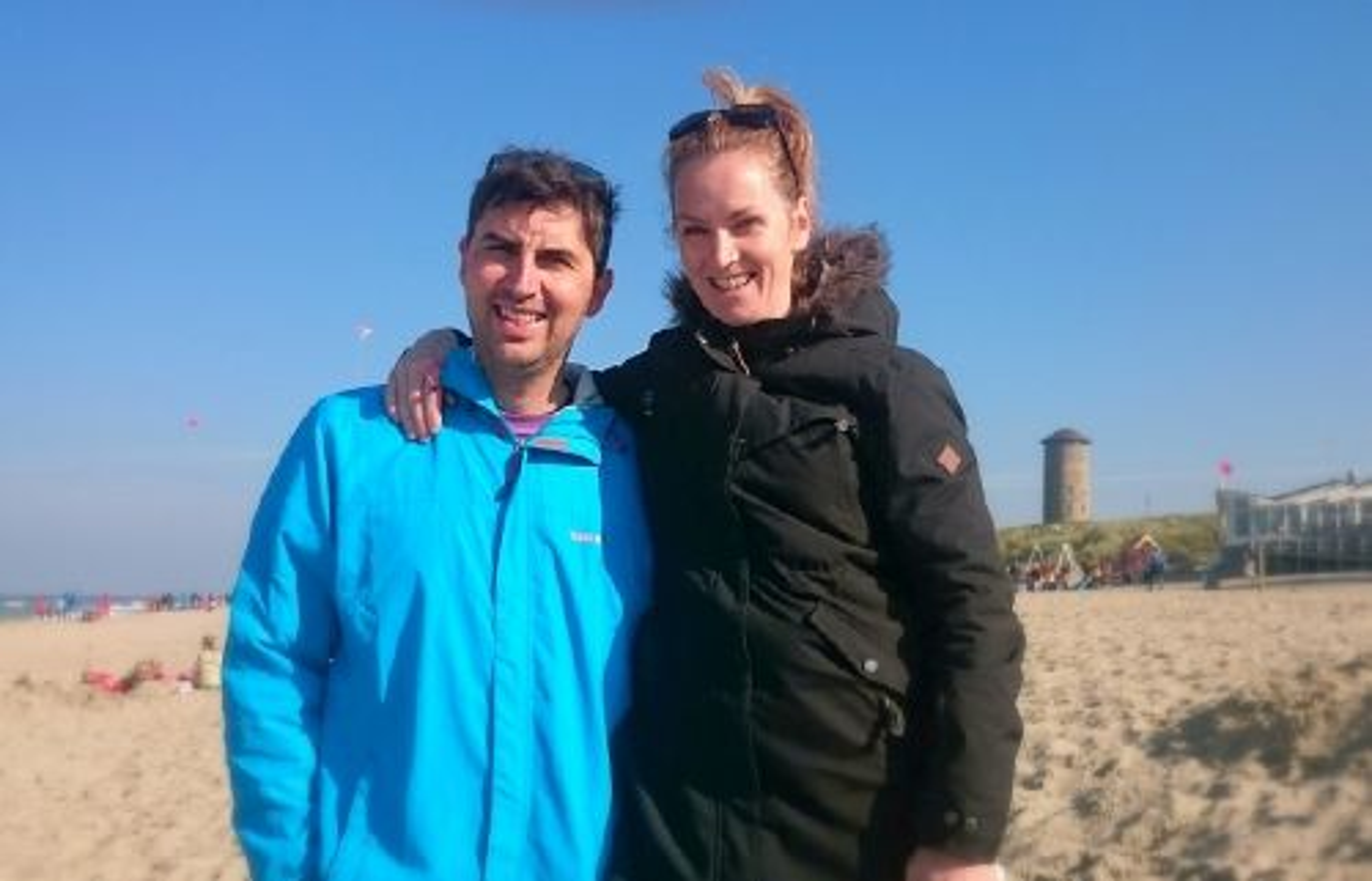 Martijn de Roos und Marjolein Minderhoud