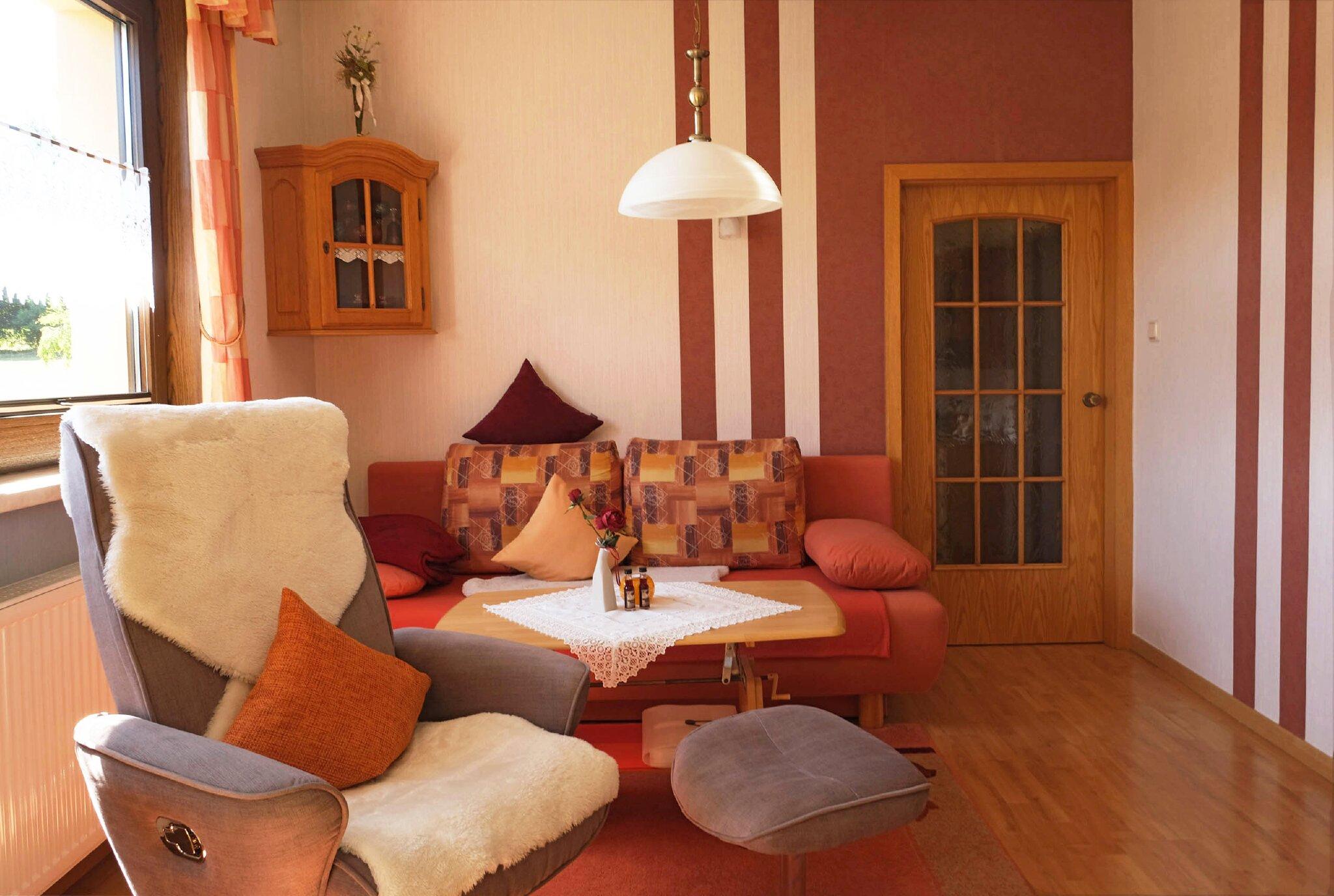 Ferienwohnung Gartenblick (Wohnzimmer)
