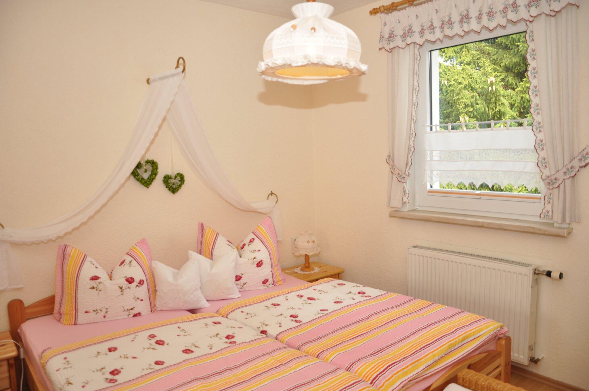 Ferienwohnung Gartenblick (Schlafzimmer)