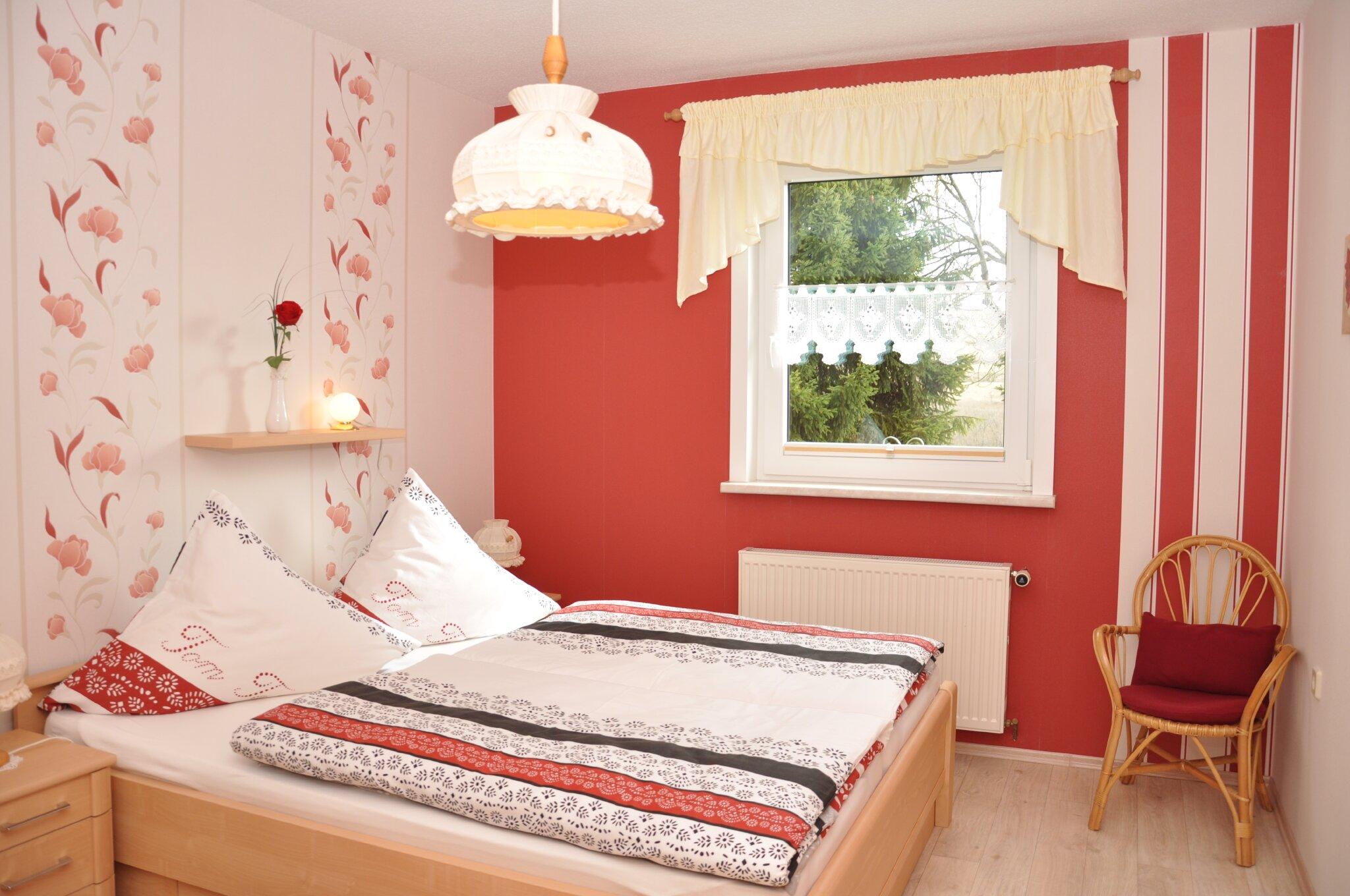 Ferienwohnung Teichblick (Schlafzimmer)