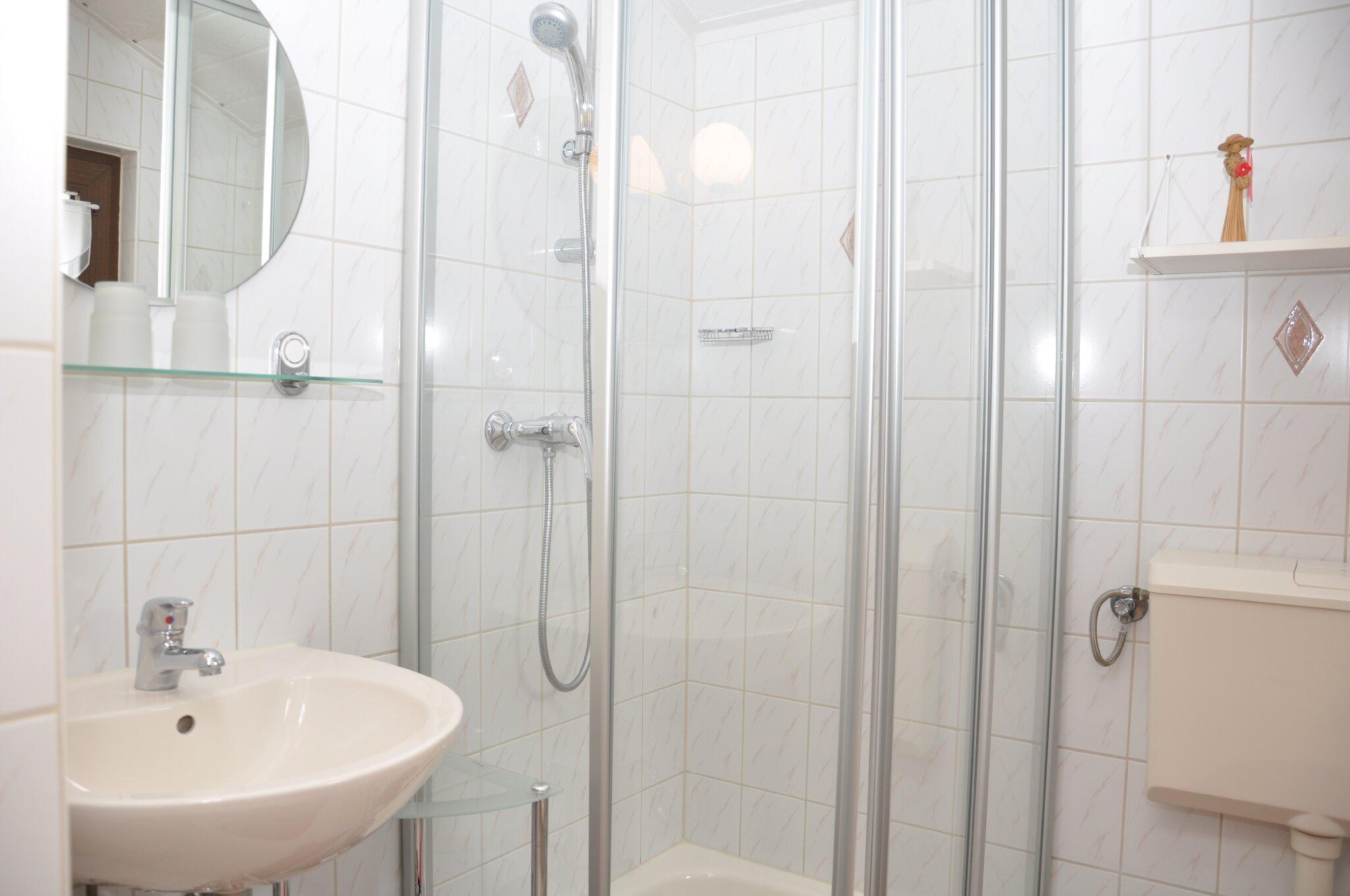 Ferienwohnung Teichblick (Dusche/WC)