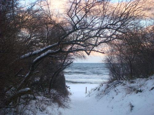 auch im Winter ein Erlebnis am Strand