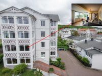 Villa Seeblick Appartment Meerforelle Nr. 207, Appartment Meerforelle 2017 in der Villa Seeblick in Sassnitz auf Rügen - kleines Detailbild