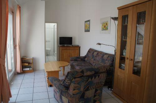 Wohnraum hier z.B. Wohnung GELB
