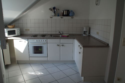Küche hier z.B.2-Zi.Wohnung BLAU 1.OG