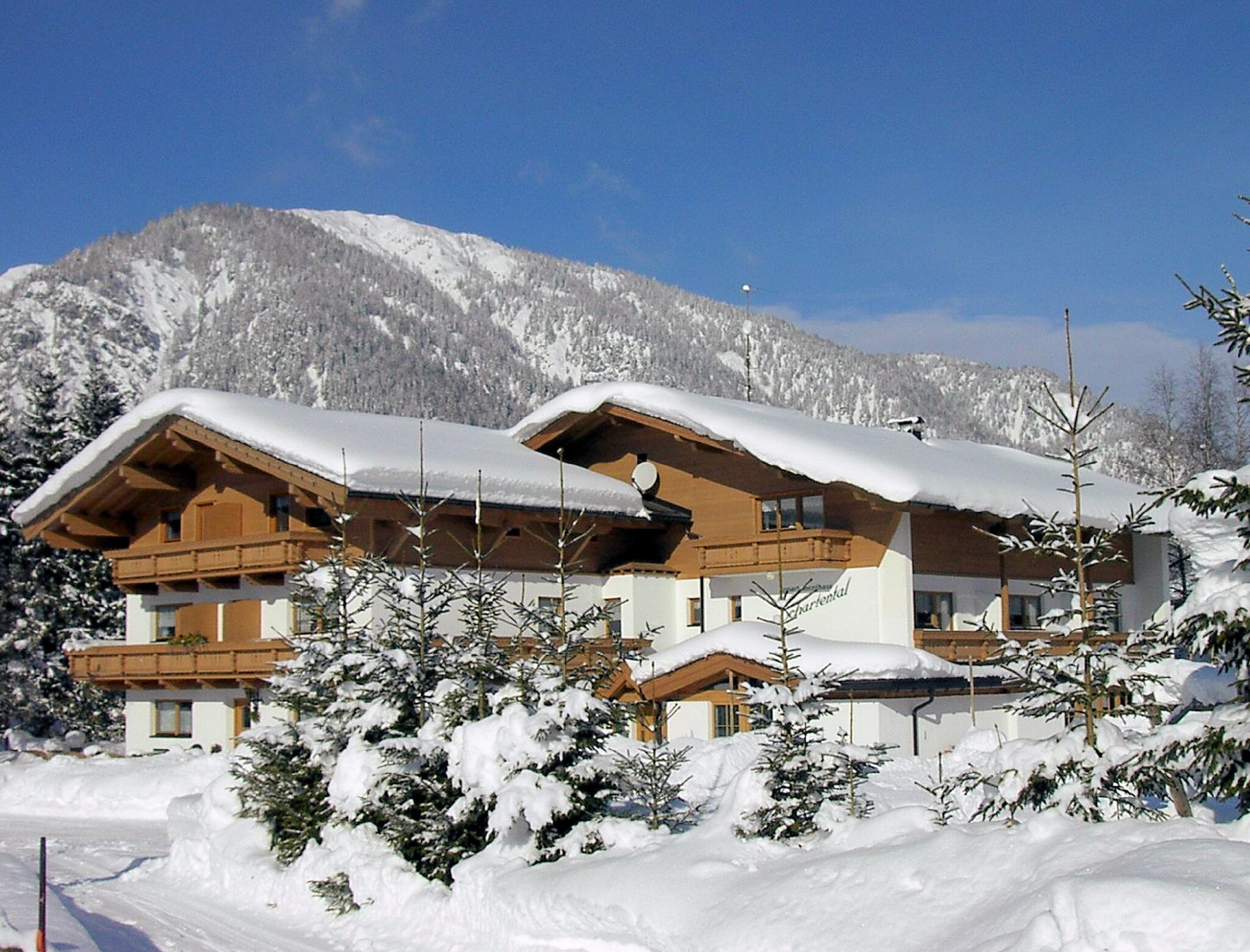 Wintermärchen Pillerseetal