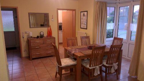 Die Sitzecke im Küchenbereich