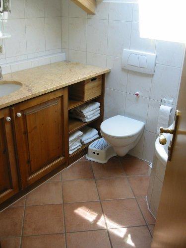 Bad mit Fußbodenheizung