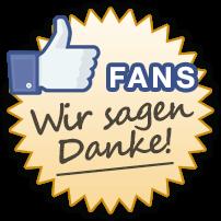 ferienwohnungen.de Facebook Fans - Wir sagen Danke!
