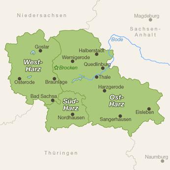Harz-Karte