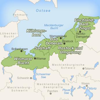 Mecklenburger Bucht-Karte