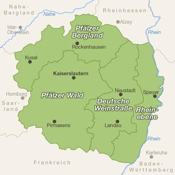 Pfalz-Karte