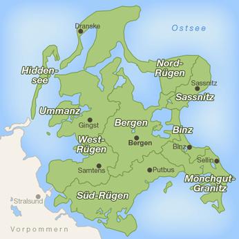 Rügen-Karte