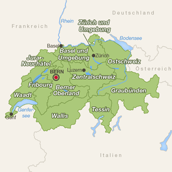 Schweiz-Karte