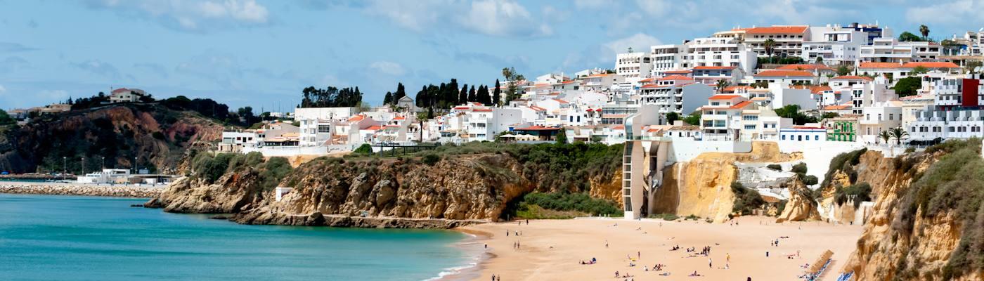 albufeira portugal strand ferienwohnungen buchen
