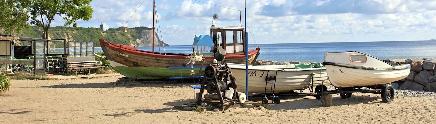 altenkirchen strand kutter ruegen steilkueste