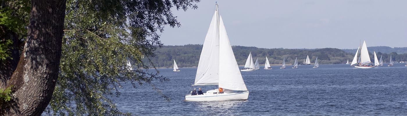 ammersee segelboot ferienwohnung