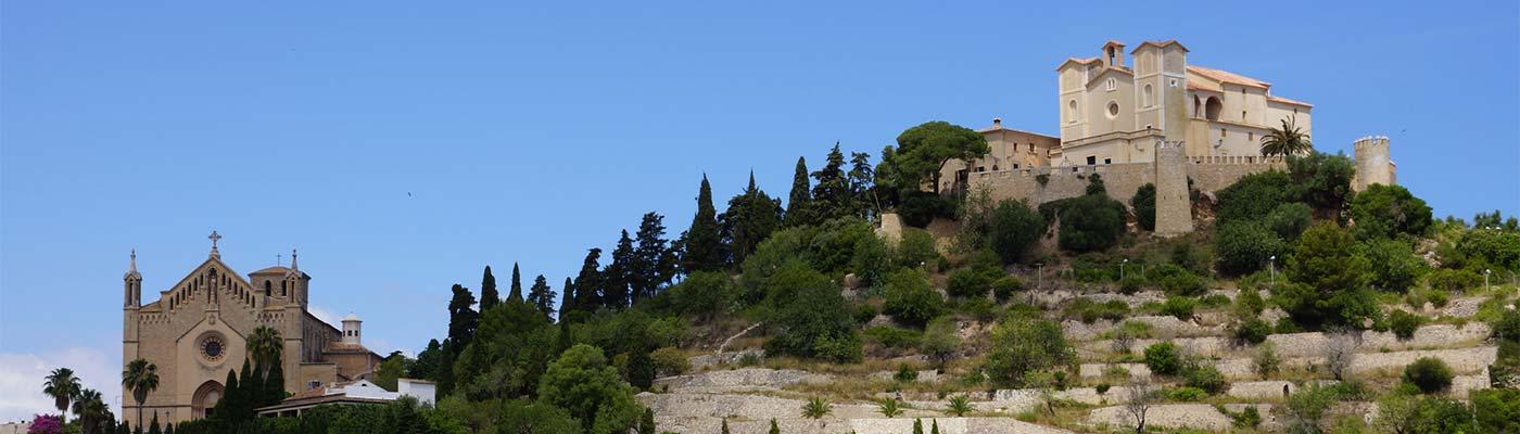 arta mallorca kloster berg