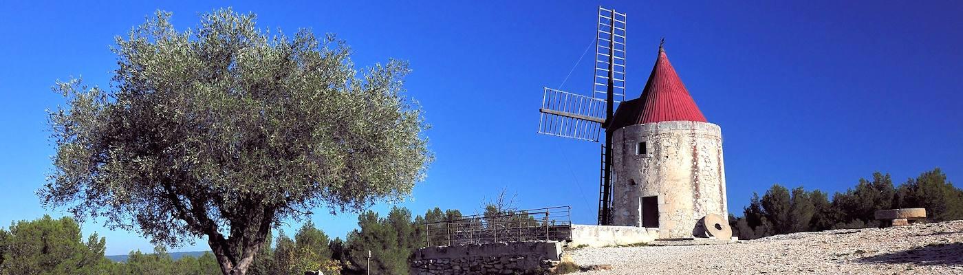 bouches du rhone windmuehle provence