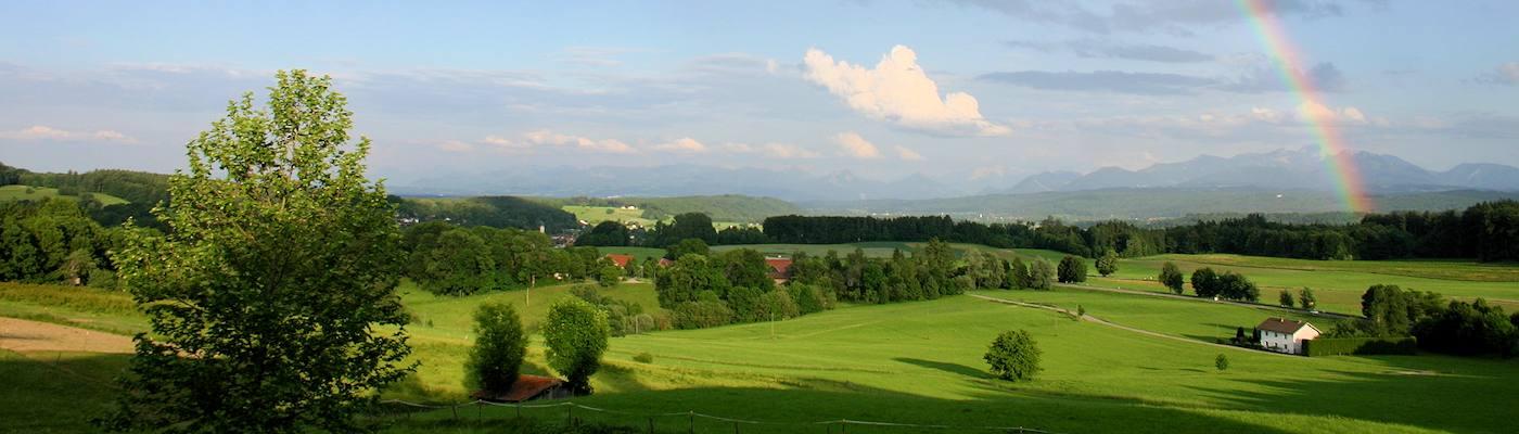 brannenburg regenbogen berge ferienhaus