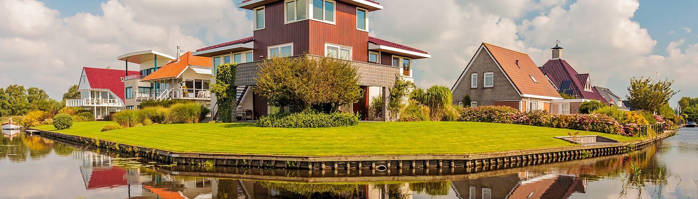 friesland niederlande ferienhaus gracht