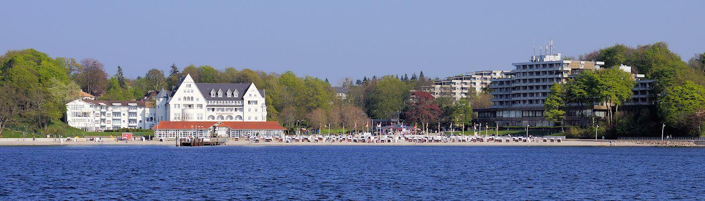 gluecksburg ostsee strand ferienwohnungen ferienhaeuser