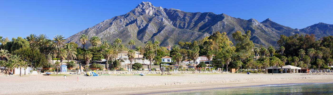 marbella strand berge ferienwohnungen