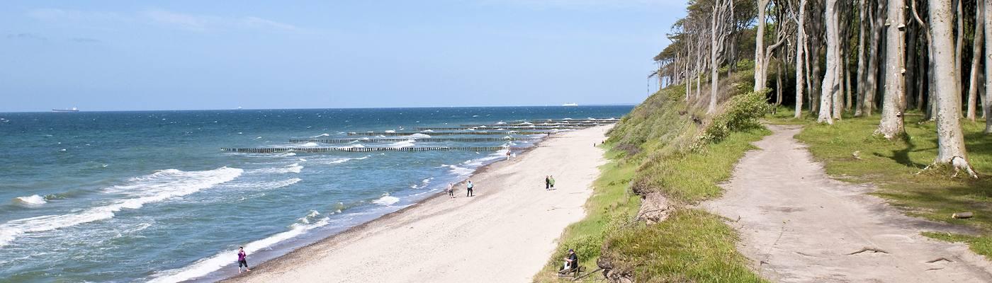 nienhagen steilkueste strand ostsee