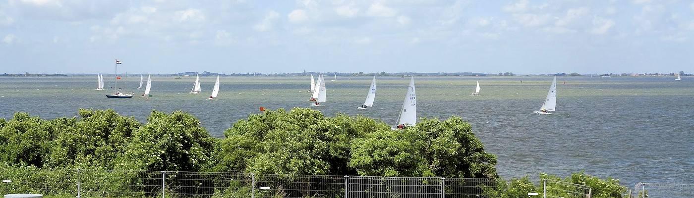noord holland ijsselmeer segelboote niederlande