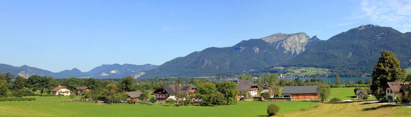 oberoesterreich bergsee berge ferienhaus