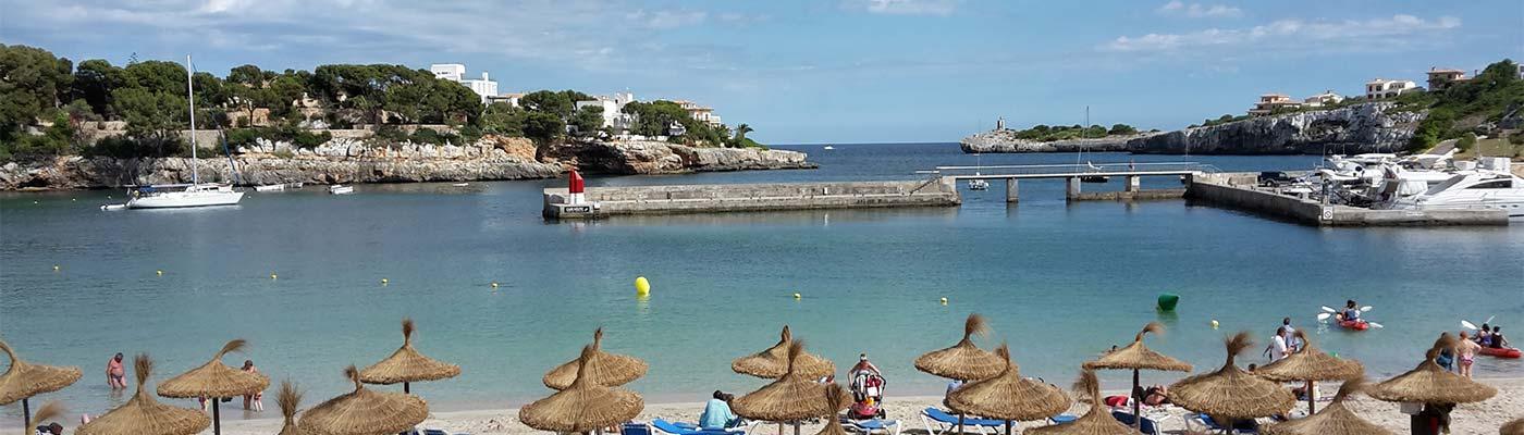 porto cristo mallorca strand bucht