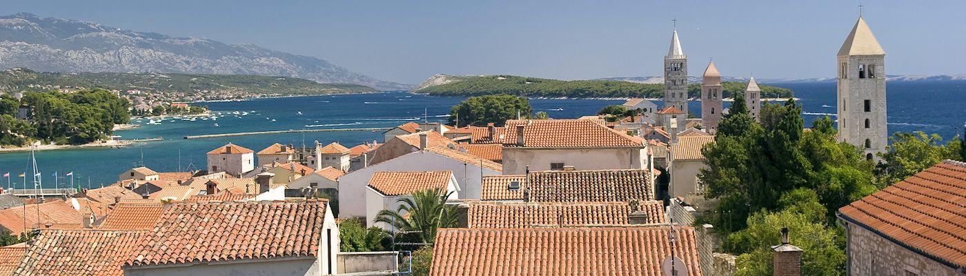 rab insel kroatien apartments ferienwohnungen