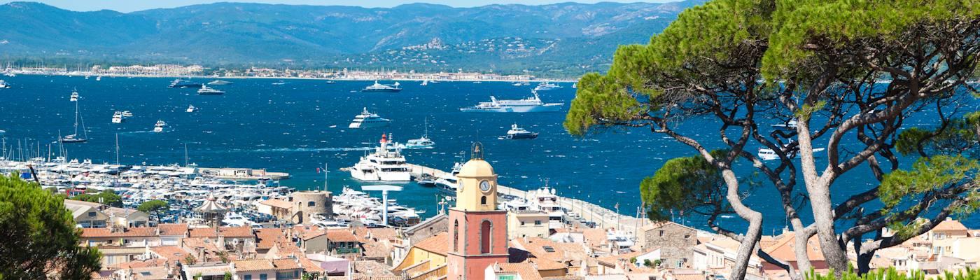 region draguignan hafen schiffe provence