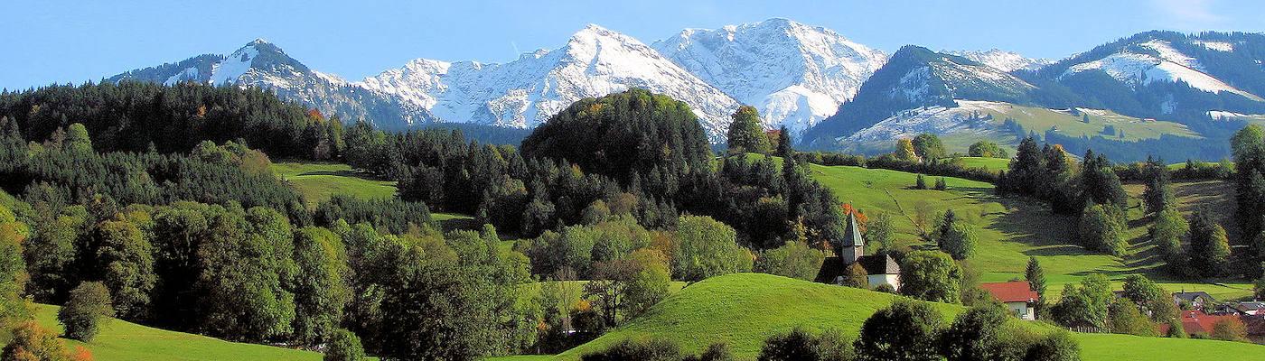 sonthofen berge alpen bayern