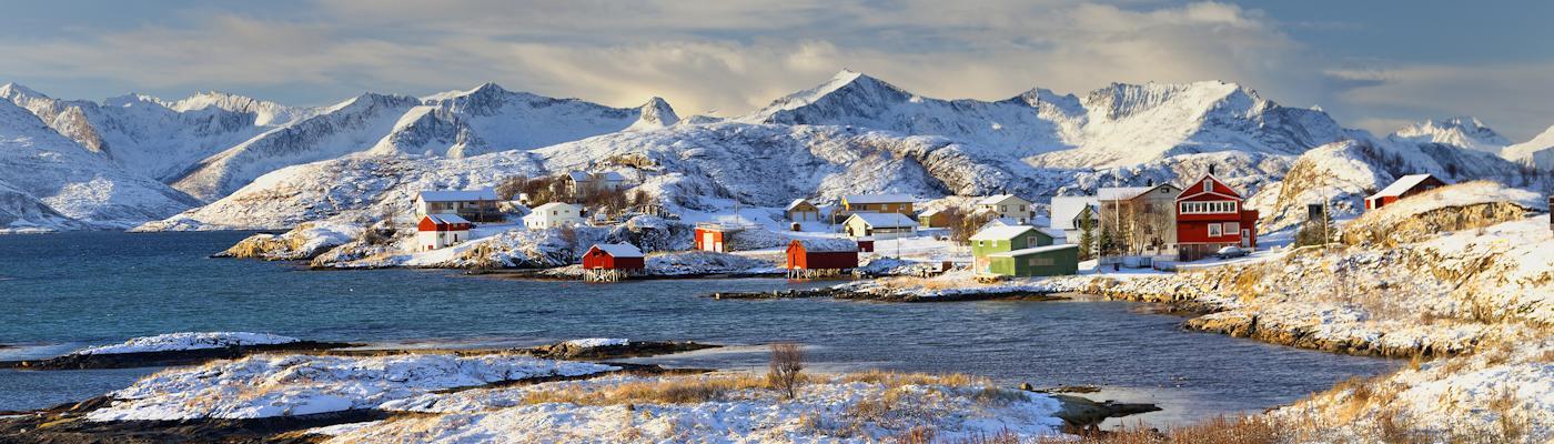 troms norwegen ferienhaus
